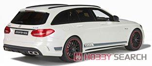 メルセデス ベンツ AMG C63 S Tモデル(ダイアモンドホワイト) (ミニカー)