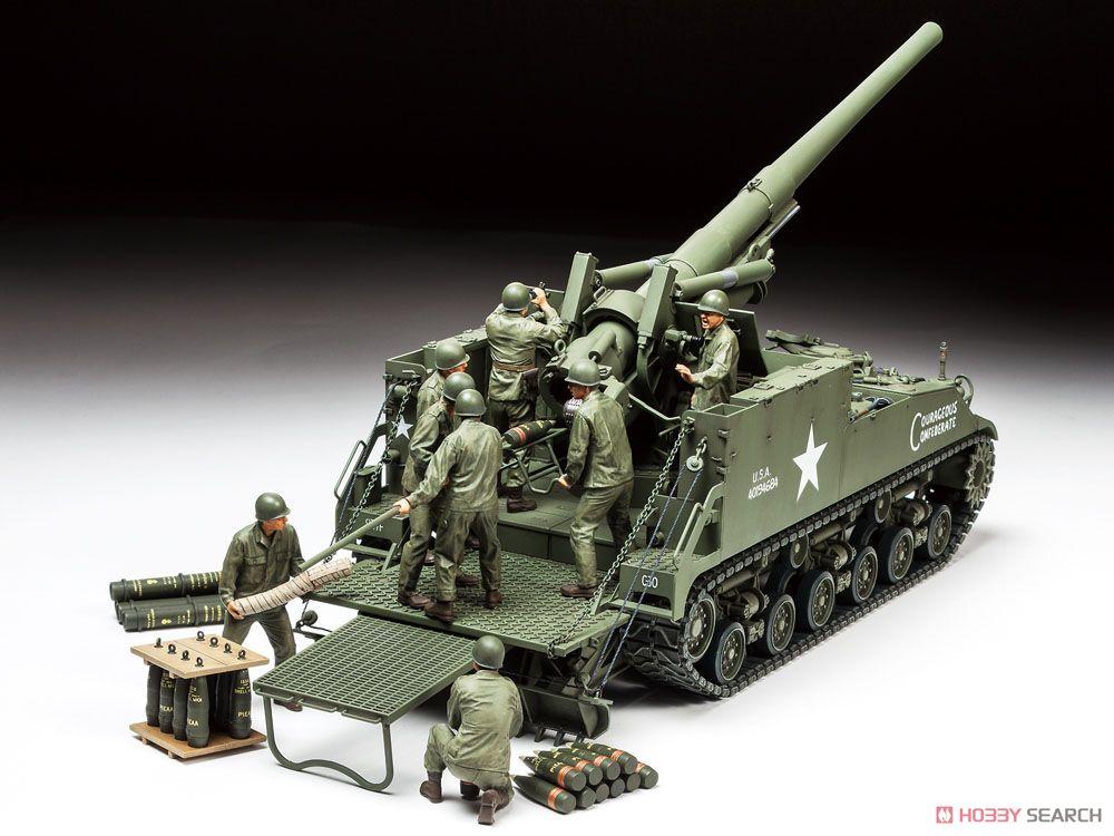 アメリカ 155mm自走砲 M40 ビッグショット (プラモデル)