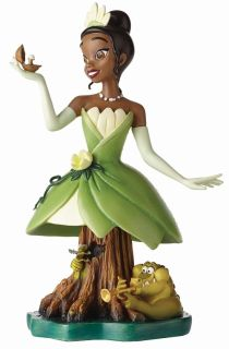 The Princess And The Frog Tiana With Louis Ray Bust Completed