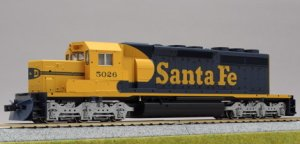 (HO) EMD SD40-2 スヌートノーズ Santa Fe #5026 ★外国形モデル (鉄道模型) 通販 - ホビーサーチ 鉄道模型 HO・Z
