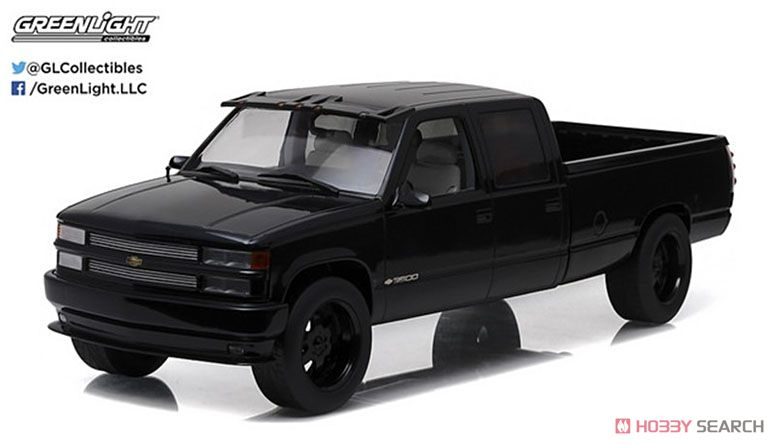 Artisan Collection - 1997 Chevrolet C-2500 Crew Cab Silverado - Black (ミニカー)