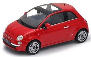 2007 フィアット 500 (レッド) (ミニカー)