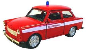 トラバント 601 消防 (FEUERWEHR) レッド (ミニカー)