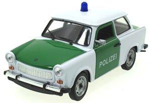 トラバント 601 パトカー (POLIZEI) グリーン/ホワイト (ミニカー)