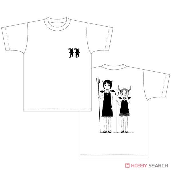 『苺ましまろ』 Tシャツ 虫歯菌柄 M (キャラクターグッズ)