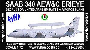 サーブ340 AEW&Cエリアイ「アラブ首長国連邦空軍」 (デカール1種) (プラモデル)