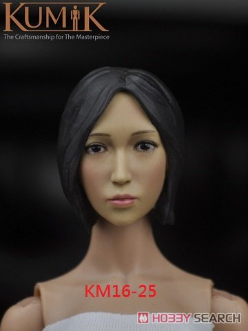 Kumik 1/6 女性ヘッド KM16-25 (ドール)