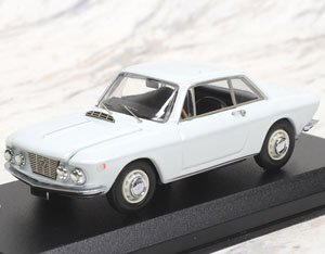 ランチア フルビア クーペ 1.2 1965 サラトガ ホワイト (ミニカー)