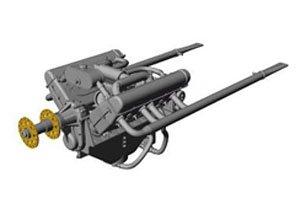 イスパノスイザ BEエンジン (レベル スパッドXIII用) (プラモデル)