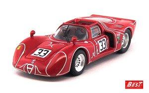 アルファロメオ 33.2 ワトキンスグレン 6時 1968 Kwech/Martino #33 (ミニカー)