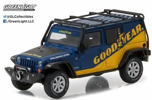 2016 Jeep Wrangler Unlimited - Goodyear with Roof Rack, Fender Flares and Winch (ミニカー)