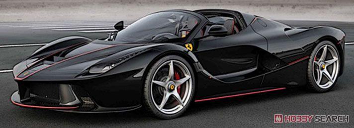 ラ フェラーリ アペルタ (ブラックデイトナ/ロッソコルサ (レッド) パリモーターショー2016 ケース付 (ミニカー)