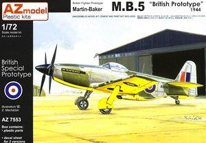 マーチン・ベーカー M.B.5 (通常版) (プラモデル)