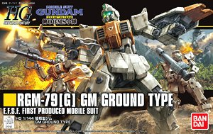 GM Ground Type (HGUC) (Gundam Model Kits)