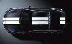 2014 スバル BRZ (ブラック/ホワイトライン) (ミニカー)