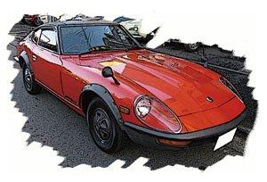 NISSAN FAIRLADY 240ZG 1971 レッド (ミニカー)