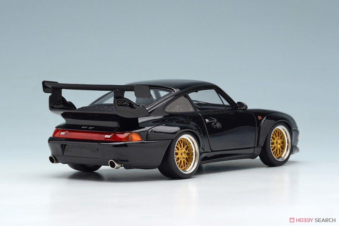 Porsche 911(993) GT2 Option Equipment 1996 ブラック (ミニカー)