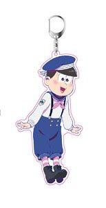 おそ松さん 描き下ろし マリンセーラー松 アクリルキーホルダー トド松 (キャラクターグッズ)