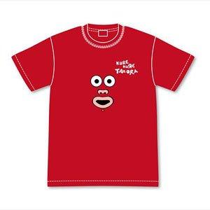 クレクレタコラ クレクレタコラフェイスTシャツ M (キャラクターグッズ)
