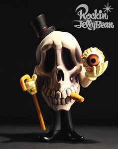 Rockin`Jelly Bean Freaky Monster Village series Mr.DEATH 1st color Ver. (完成品)