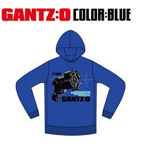 LIVERTINEAGE×GANTZ:O コラボパーカー GUN BLU M (キャラクターグッズ)