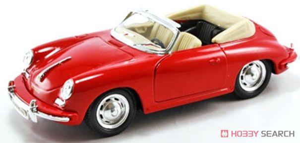 ポルシェ 356B (レッド) (ミニカー)