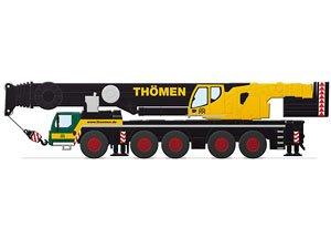 LIEBHERR LTM 1250-5.1 モービルクレーン `THOMEN` (ミニカー)