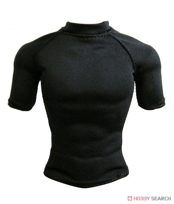 ワイルドトイズ 1/6 タクティカルTシャツ ショートスリーブ ブラック (ドール)