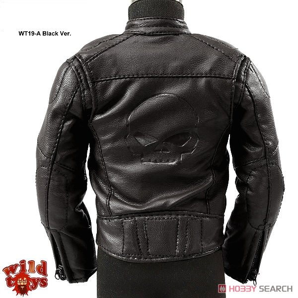 ワイルドトイズ 1/6 レザージャケット&レザーパンツ セット ブラック ver. (ドール)