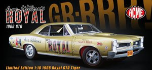 Ace Wilson`s Royal 1966 Pontiac GeeTO Tiger (ミニカー)
