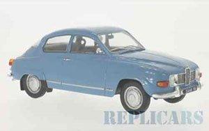 サーブ 96 V4 1971 ブルー (ミニカー)