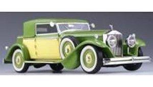 ロールス・ロイス ファントムII クロイドン ヴィクトリア クローズド 1932 グリーン (ミニカー)