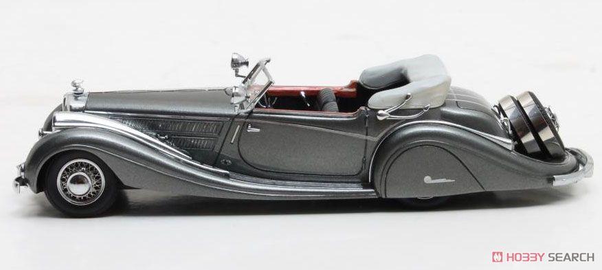 ホルヒ 853 Voll&Ruhrbeck ロードスター 1937 シルバー (ミニカー)