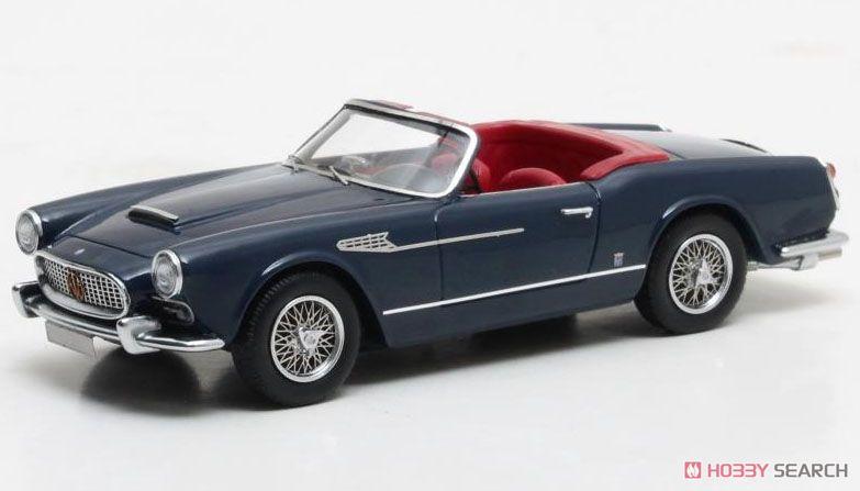 マセラティ 3500 GT スパイダー プロトタイプ AM101 1959 ブルー (ミニカー)