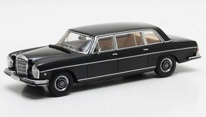 メルセデス・ベンツ W109 300 SEL Lang Vatican 1967 ブラック (ミニカー)