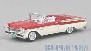 マーキュリー ターンパイク コンバーチブル 1957 レッド/ホワイト (ミニカー)
