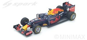 Red Bull Racing TAG Heuer RB12 No.3 Winner Malaysian GP 2016 (ミニカー)