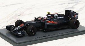 McLaren MP4-31 No.22 `Halo` Test Italian GP 2016 (ミニカー)