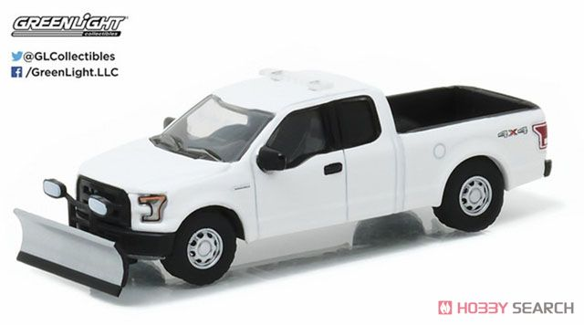 2015 Ford F-150 with Emergency Light Bar and Snow Plow (Hobby Exclusive)