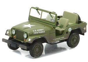Elvis Presley (1935-77) - Cold War Era Willy`s Army Jeep (ミニカー)