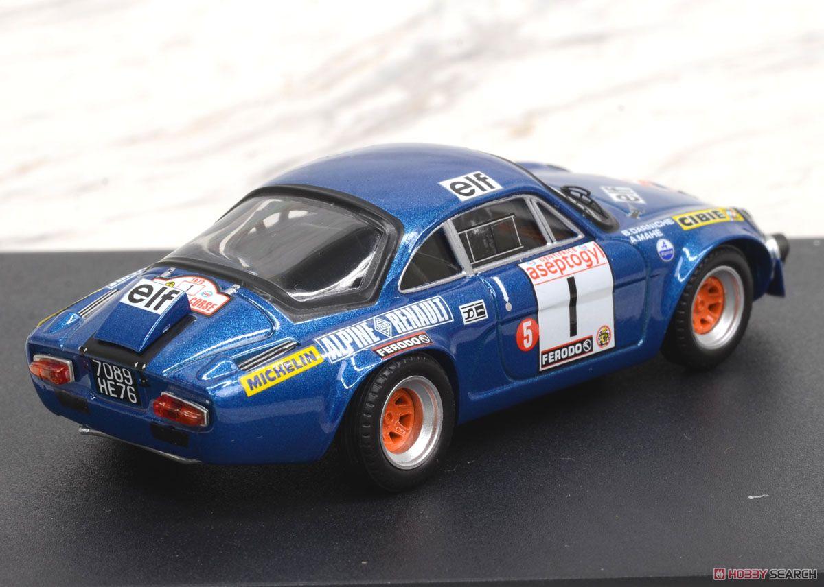 アルピーヌ ルノー A110 1972年ツール・ド・コルス 4位 B.Darniche / A.Mahe (ミニカー)