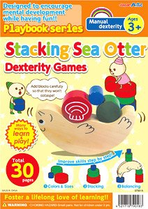English version Playbook Stacking Sea Otter Dexterity Games (Educational)