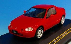ホンダ CR-X DelSol 1992 レッド (ミニカー)