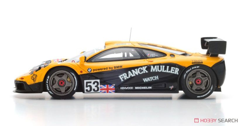 McLaren F1 GTR No.53 Le Mans 1996 J.-D.Deletraz - M.S.Sala - F.Giroix (ミニカー)