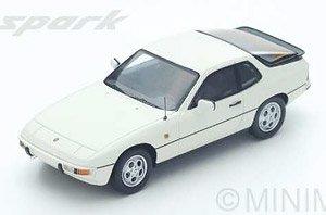 Porsche 924S 1988 (White) (ミニカー)