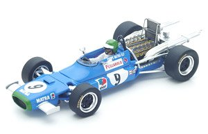 Matra MS11 No.9 9th Mexican GP 1968 Henri Pescarolo (ミニカー)