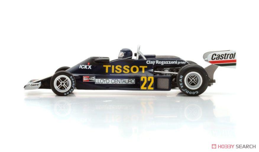 Ensign N177 No.22 10th Monaco GP 1977 Jacky Ickx (ミニカー)