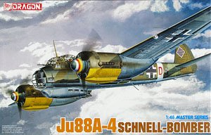 WWII ドイツ空軍 Ju88A-4 シュネルボマー (プラモデル)