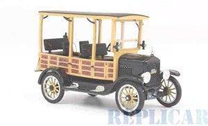 フォード モデル T ウッディ 1925 ブラック (ミニカー)