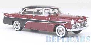 Desoto ファイアードーム 4ドア セビル 1956 メタリックダークレッド/ブラック (ミニカー)